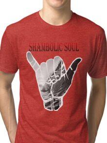 Unbiased Greetings Tri-blend T-Shirt