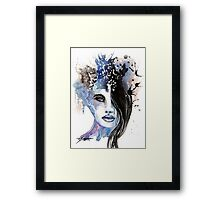 A Cluttered Mind Framed Print