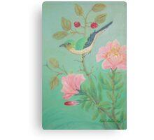 Wee Tuchie Burdie Canvas Print