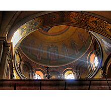 Church of the Holy Sepulchre - Spectral Light Photographic Print