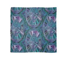 Signature Blues in abstract Scarf