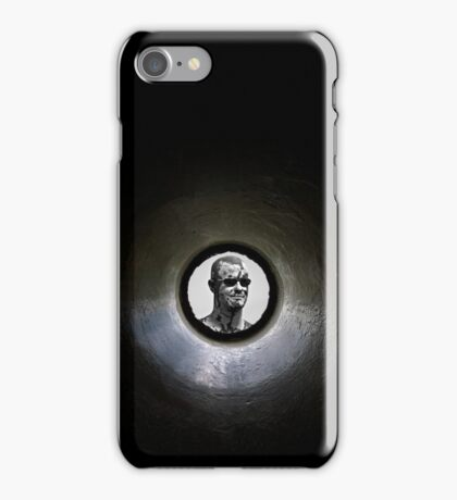 Weird Guy In The Well iPhone Case/Skin