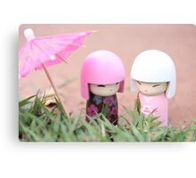 China doll friends #4 Canvas Print