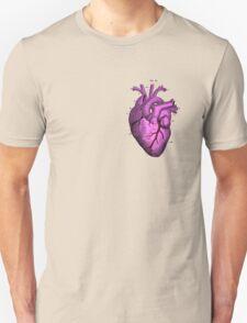 Anatomy pink love heart.  Unisex T-Shirt