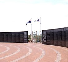 Wall of Rememberance  HMAS Sydney Memorial by Steve9