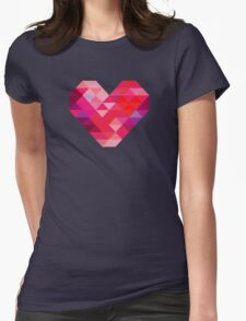 Prism Heart Womens Fitted T-Shirt