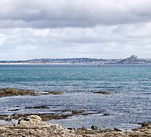 View of St Michael's Mount by Susie Peek