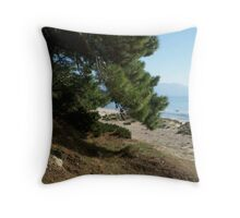 Pines, Samos Throw Pillow
