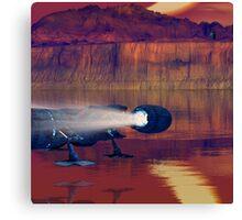 Eclipse 2000 Canvas Print