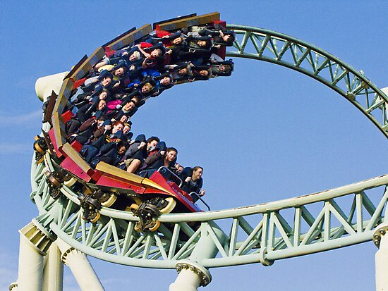 Colouss - Out Of a Loop - Thorpe Park by Colin  Williams Photography