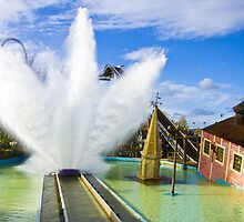 Tidal Wave - Thorpe Park by Colin J Williams Photography