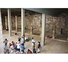 History Lesson Photographic Print