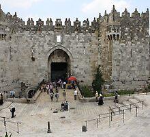 Damascus Gate by milzi