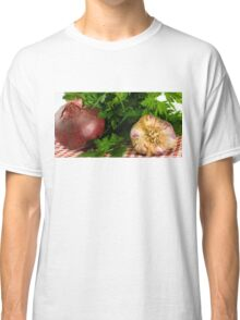 Onion Garlic and Parsley Classic T-Shirt