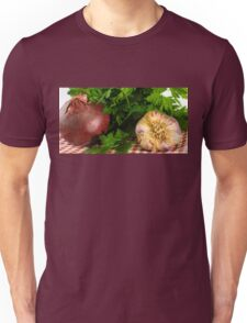 Onion Garlic and Parsley Unisex T-Shirt