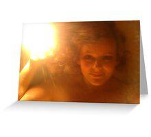 Angel Light Greeting Card