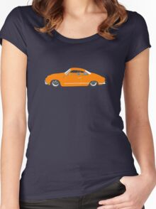 Orange Karmann Ghia Women's Fitted Scoop T-Shirt