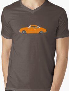 Orange Karmann Ghia Mens V-Neck T-Shirt