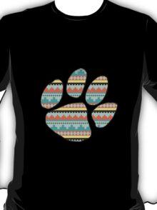 Tribal Paw Print T-Shirt