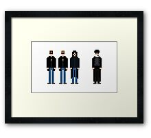 """""""Now you will receive us"""" Framed Print"""