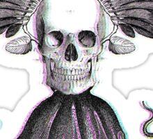 The Strange Tale of Skullbirdtopus Sticker