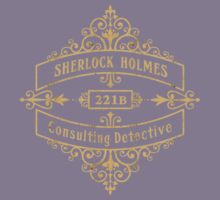 Consulting Detective Kids Tee