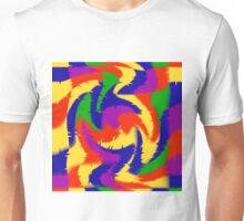 Primary Color Abstract Unisex T-Shirt