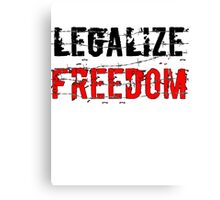 Legalize Freedom 3 Canvas Print