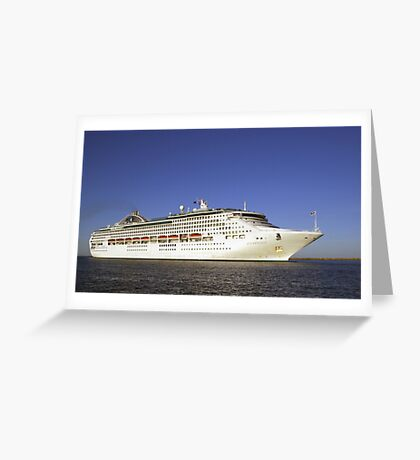 Sun Princess Greeting Card