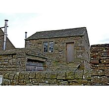 Stone Shed Photographic Print