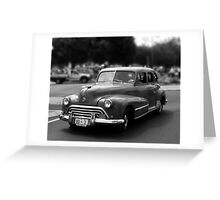 Oldsmobile Greeting Card