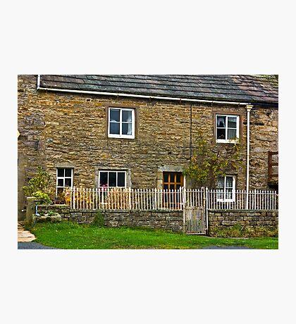 Village Cottage - Muker, Yorks Dales N.P. Photographic Print