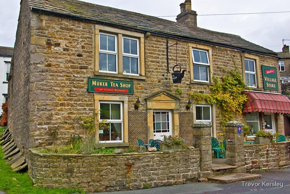 Tea Shop & Village Stores - Muker by Trevor Kersley