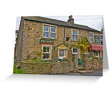 Tea Shop & Village Stores - Muker Greeting Card