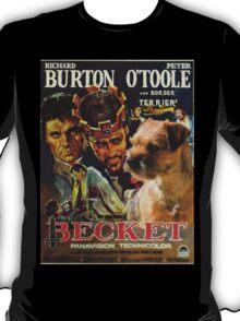 Border Terrier Art - Becket Movie Poster T-Shirt