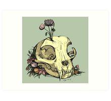Little Skull Colour Art Print