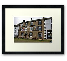 The Kings Arms Hotel - Reeth Framed Print