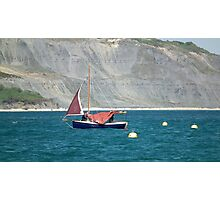 Sails Coming Down Photographic Print