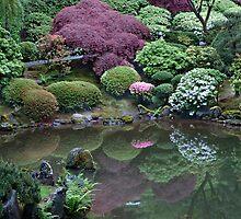 Japanese Garden by Cathy P. Austin