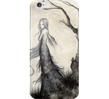 The Gray Girl iPhone Case/Skin