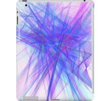 Purple noise line iPad Case/Skin