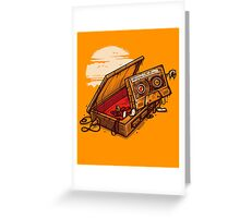 Dead Man Walkmann Greeting Card