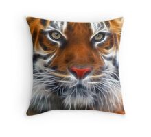 Lord of the Indian Jungles Throw Pillow