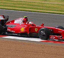 Ferrari F1 by Tony Dewey