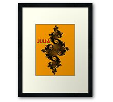Julia Beautiful Framed Print