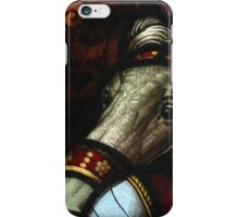 Knight & Horse - Stained Glass Window in Lyme Regis iPhone Case/Skin