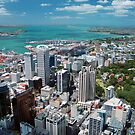 Auckland From Above by Jonathan Hughes