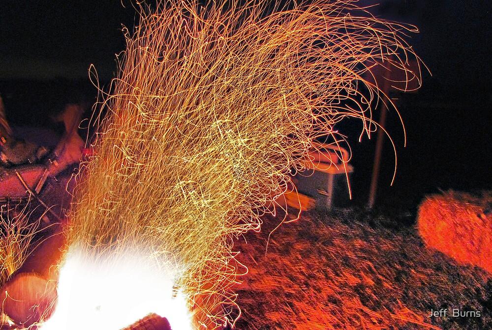 Kickin The Fire by Jeff  Burns