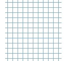 PASTEL BLUE GRID Photographic Print