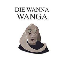 Bib Fortuna: Die Wanna Wanga: Black Version Photographic Print
